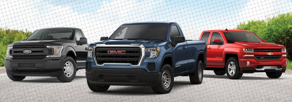 Gmc Vs Chevy >> Ford F 150 Vs Chevy Silverado 1500 Vs Gmc Sierra 1500 Andy